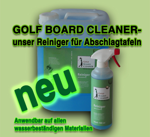 Golf Board Cleaner